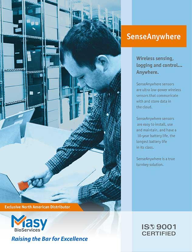 SenseAnywhere Brochure Cover