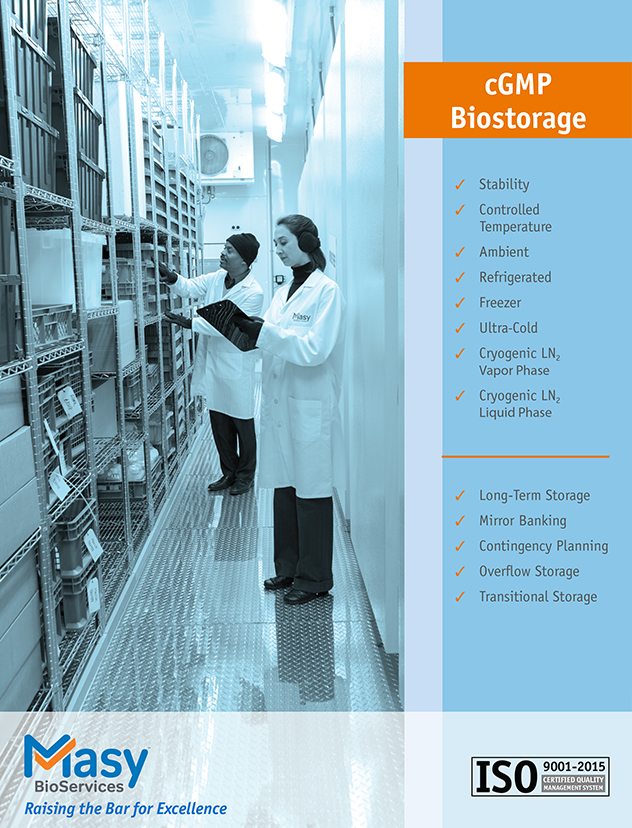 Biostorage case study- 600 blood specimens