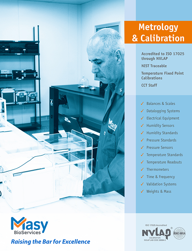 Calibration and metrology services brochure