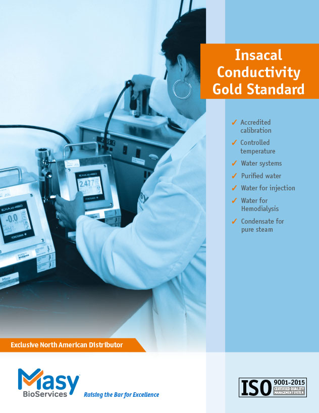 Insacal conductivity meter product brochure