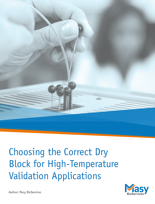 Whitepaper on dry blocks for thermal validation