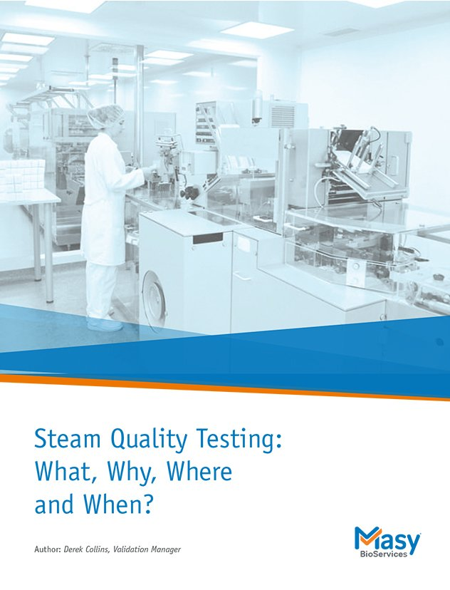 Steam quality testing white paper