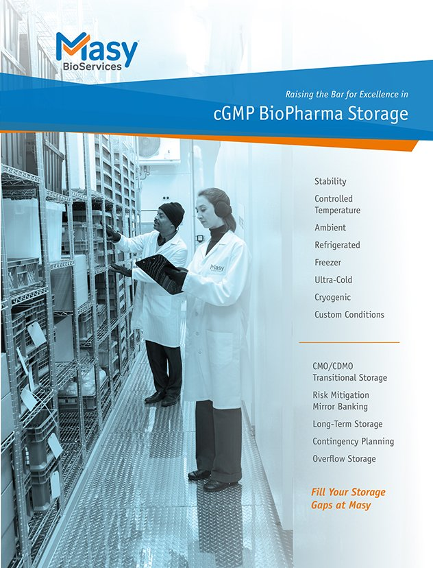 Biostorage capabilities and conditions brochure