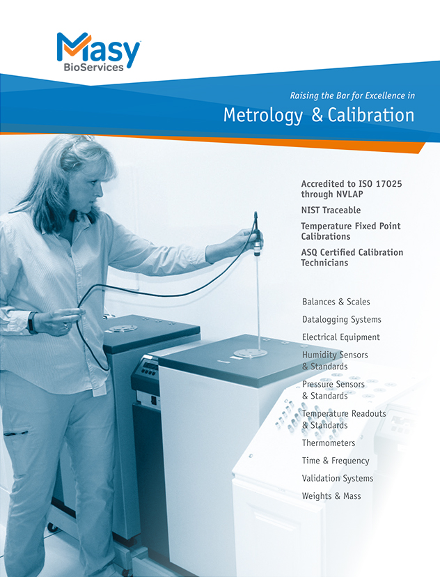 Metrology & Calibration Services Brochure
