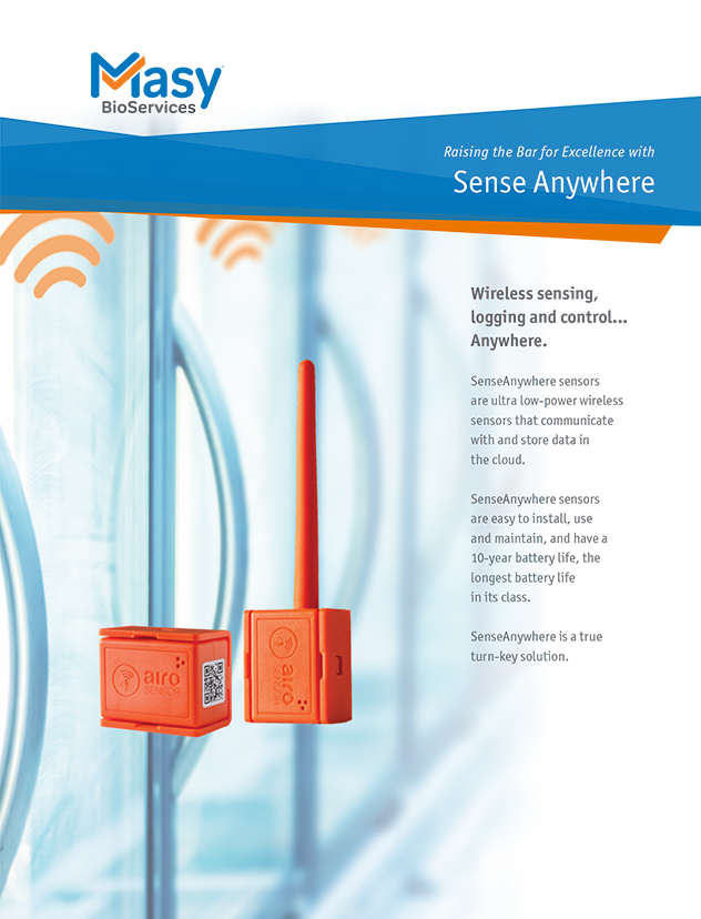 SenseAnywhere Monitoring System Product Brochure