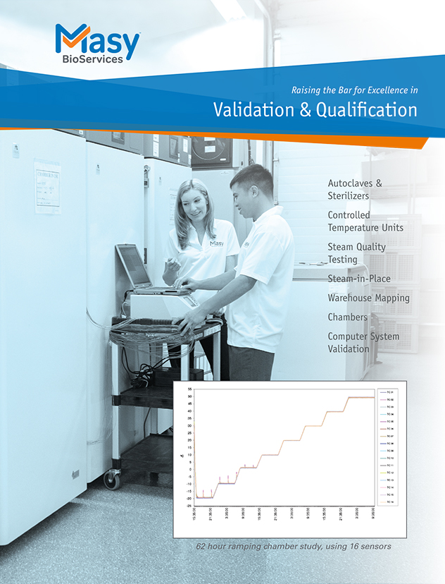 IQ OQ PQ Validation Services Brochure